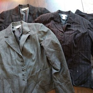 Lot of 3 Size 14 Blazer and Pants/Skirts Suits